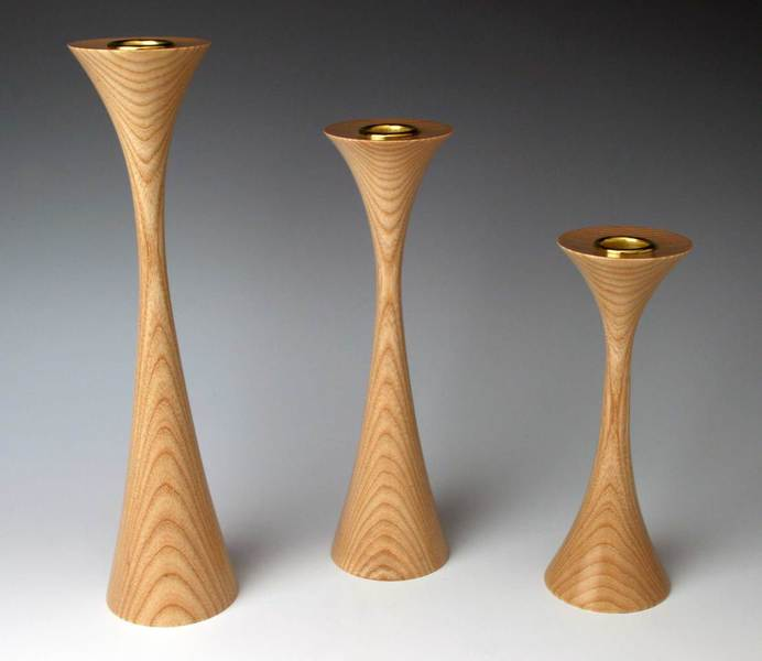 Candlestick Holders Inspired by Rude Osolnik